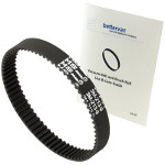 Bissell PowerGlide Pet Vacuum Belt #1604406 / 3M-213-9 Bundled With Use & Care Guide
