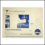 Filter Queen 1805 Charcoal Filter - 2 pack