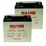 Homelite 24v Lawn Mower battery (2-12 Volt batteries)