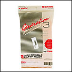 Kirby 197389 Generation 3 Vacuum Bags - 9 pack