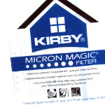 Kirby 205811 Micron Magic Universal Allergen Bags - 2 Pack For All Kirby Models Since 1988