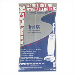Oreck Ccpk80f Odor Fighting Hypo Allergenic Vacuum Bags