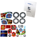 Power Wheels CMP32 Paw Patrol Decal Sheet #3900-3407 Bundled With Use & Care Guide