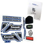 Power Wheels CDD20 Kawasaki Bruteforce Decal Sheet #3900-3619 Bundled With Use & Care Guide