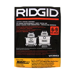 Ridgid VF3503 High Efficiency Dust Bags